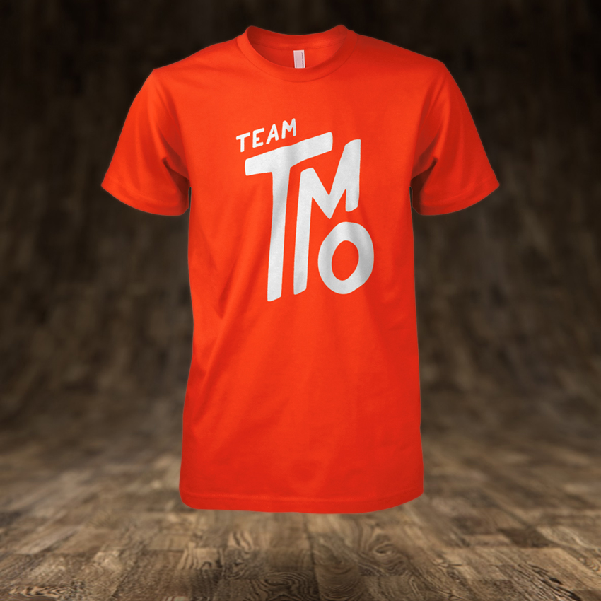 Team TMo T-Shirt Mockup